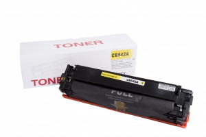 HP compatible toner cartridge CB542A, 1400 yield
