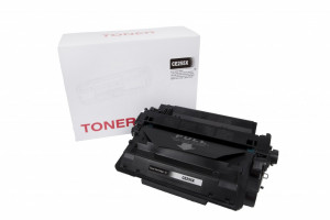 HP compatible toner cartridge CE255X, 12500 yield