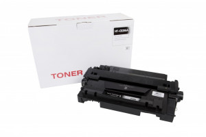 HP compatible toner cartridge CE255A, 6000 yield