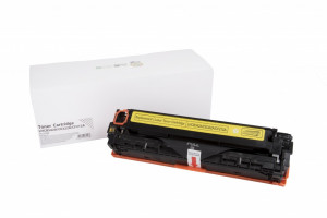 HP compatible toner cartridge CB542A / CE322A / CF212A, 1400 yield (Orink white box)