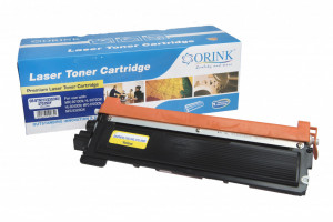 Brother compatible toner cartridge TN230Y, 1400 yield (Orink box)