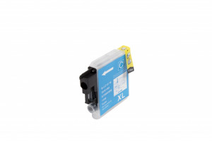 Brother compatible ink cartridge LC1100C / LC980C, 12ml (Orink bulk)