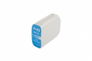 HP compatible ink cartridge C4911A, no.82, 69ml (Orink bulk)
