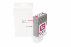 Canon refill ink cartridge 0897B001, PFI102M, 130ml (BULK)