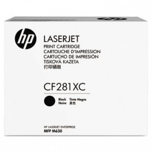 HP original toner cartridge CF281A, 10500 yield