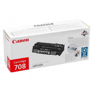 Canon original toner CRG708H, black, 6000str., 0917B002, high capacity, Canon LBP-3300