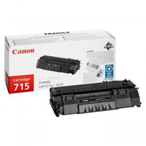 Canon original toner CRG715H, black, 7000str., 1976B002, high capacity, Canon LBP-3310, 3370, O