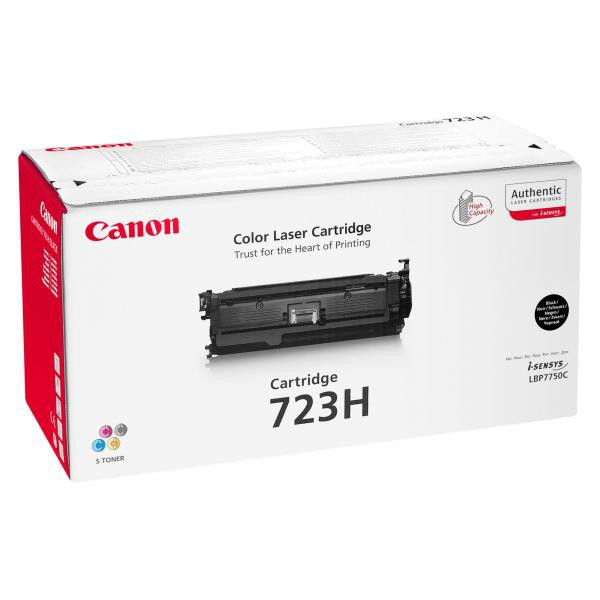 Canon original toner CRG723H, black, 10000str., 2645B002, high capacity, Canon LBP-7750Cdn, O