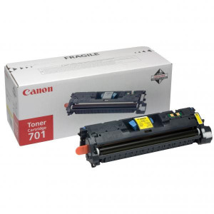 Canon original toner EP701, yellow, 2000str., 9288A003, Canon LBP-5200, Base MF-8180c, O