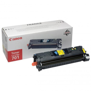 Canon original toner EP701, yellow, 4000str., 9284A003, Canon LBP-5200, Base MF-8180c, O