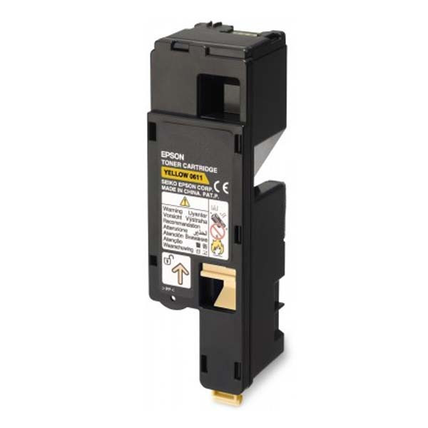 Epson original toner C13S050611, yellow, 1400str., high capacity, Epson Aculaser C1700, O