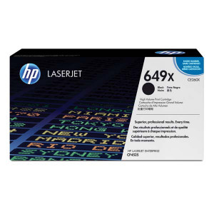 HP originál toner CE260X, black, 17000str., HP 649X, high capacity, HP Color LaserJet CP4525