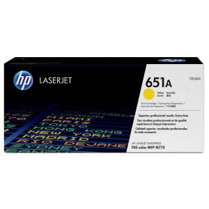 HP original toner CE342A, yellow, 16000str., HP 651A, HP LaserJet Enterprise 700 color MFP M775dn, M775f, O