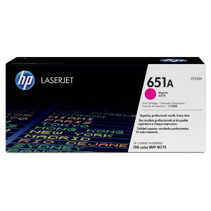 HP original toner CE343A, magenta, 16000str., HP 651A, HP LaserJet Enterprise 700 color MFP M775dn, M775f, O