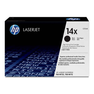 HP original toner CF214X, black, 17500str., HP 14X, HP LaserJet Enterprise 700 M712dn, O