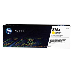 HP originál toner CF312A, yellow, 31500str., HP 826A, HP Color LaserJet Enterprise M855dn, M855x+, M855x+