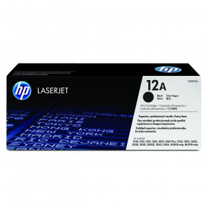 HP original toner Q2612A, black, 2000str., HP 12A, HP LaserJet 1010, 1012, 1015, 1020, 1022, 3015, 3020, O