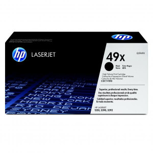 HP originál toner Q5949X, black, 6000str., HP 49X, high capacity, HP LaserJet 1320, 3390, 3392