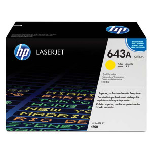 HP originál toner Q5952A, yellow, 10000str., HP 643A, HP Color LaserJet 4700, n, dn, dtn, ph+