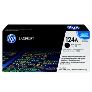HP original toner Q6000A, black, 2500str., HP 124A, HP Color LaserJet 1600, 2600n, 2605, O