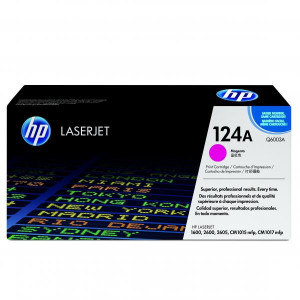 HP original toner Q6003A, magenta, 2000str., HP 124A, HP Color LaserJet 1600, 2600n, 2605, O