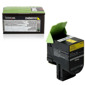 Lexmark original toner 24B6010, yellow, 3000str., 24B6010, high capacity, Lexmark C 2132
