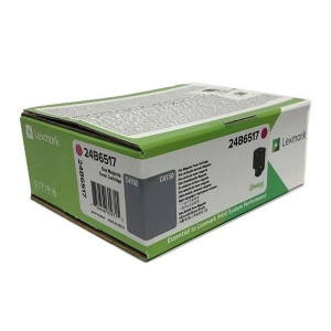 Lexmark original toner 24B6517, magenta, 10000str., return, high capacity, Lexmark C 4150
