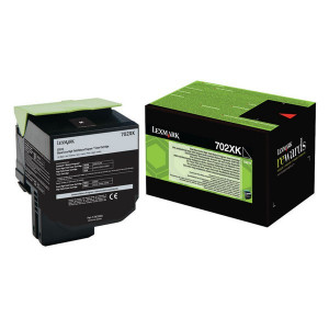 Lexmark originál toner 70C2XK0, black, 8000str., return, extra high capacity, Lexmark CS510de, CS510dte