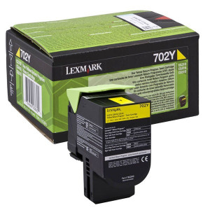 Lexmark originál toner 70C2XY0, yellow, 4000str., return, extra high capacity, Lexmark CS510de, CS510dte
