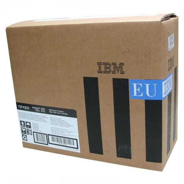 IBM originál toner 75P4303, black, 21000str., return, IBM 1332, 1352, 1372