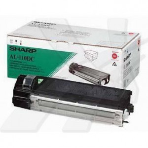 Sharp originál toner AL-110DC, black, 4000str., Sharp AL-1217, 1255, 1457, 1555