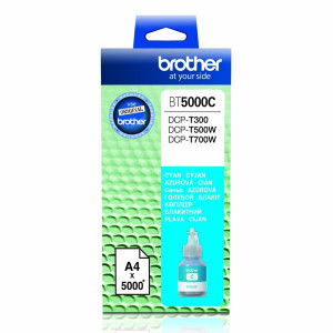 Brother originál ink BT-5000C, cyan, 5000str., Brother DCP T300, DCP T500W, DCP T700W