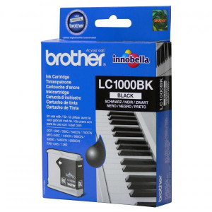 Brother originál ink LC-1000BK, black, 500str., Brother DCP-130C, 330C, 540CN, 350C, MFC-440CN, 465CN, 546