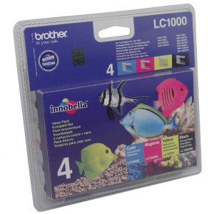 Brother originál ink LC-1000VALBP, CMYK, Brother DCP-330C, 540CN, 130C, MFC-240C, 440CN