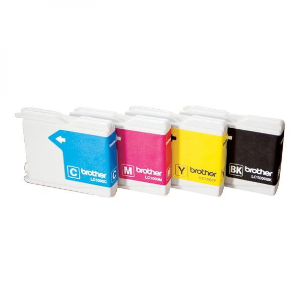 Brother originál ink LC-1000Y, yellow, 400str., Brother DCP-330C, 540CN, 130C, MFC-240C, 440CN