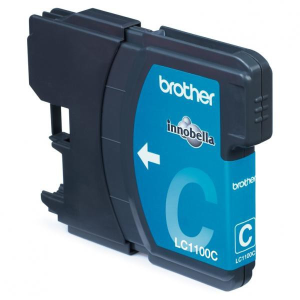 Brother original ink LC-1100C, cyan, 325str., Brother DCP-6690CW, MFC-6490CW