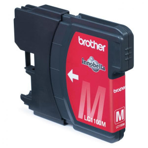 Brother original ink LC-1100M, magenta, 325str., Brother DCP-6690CW, MFC-6490CW
