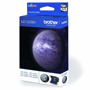 Brother original ink LC-1220BK, black, 300str., Brother DCP-J925 DW