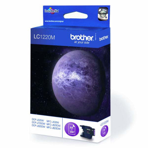 Brother original ink LC-1220M, magenta, 300str., Brother DCP-J925 DW