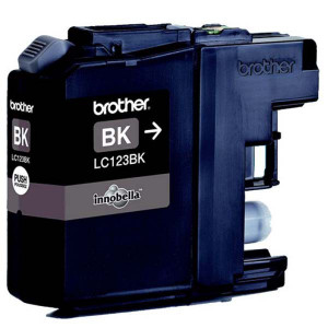Brother originál ink LC-123BK, black, 600str., Brother MFC-J4510 DW