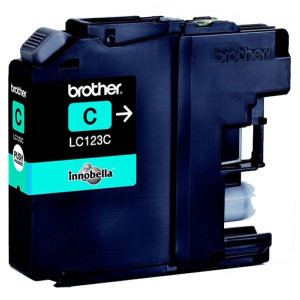Brother original ink LC-123C, cyan, 600str., Brother MFC-J4510 DW