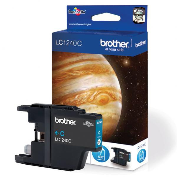 Brother originál ink LC-1240BK, black, 600str., Brother MFC-J6910DW