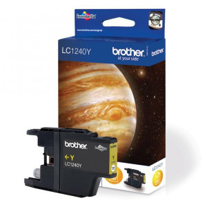 Brother original ink LC-1240Y, yellow, 600str., Brother MFC-J6910DW
