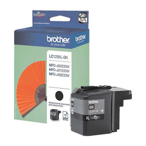 Brother originál ink LC-129XLBK, black, 2400str., Brother MFC J6920DW