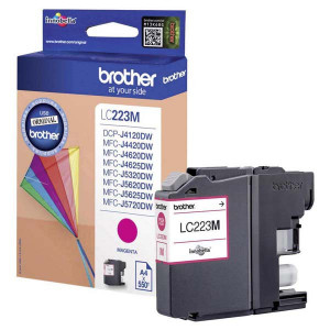 Brother originál ink LC-223M, magenta, 600str., 1ks, Brother MFC-J4420DW, MFC-J4620DW