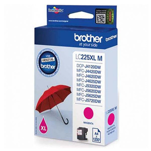 Brother originál ink LC-225XLM, magenta, 1200str., 1ks, Brother MFC-J4420DW, MFC-J4620DW