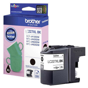 Brother originál ink LC-227XLBK, black, 1200str., Brother MFC-J4420DW, MFC-J4620DW