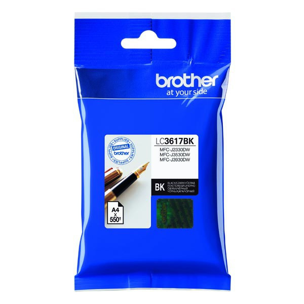 Brother originál ink LC-3617BK, black, 550str., 12,5ml, Brother MFCJ2330, 3530, 3930