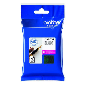 Brother original ink LC-3617M, magenta, 550str., Brother MFCJ2330, 3530, 3930