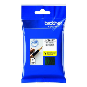 Brother original ink LC-3617Y, yellow, 550str., Brother MFCJ2330, 3530, 3930